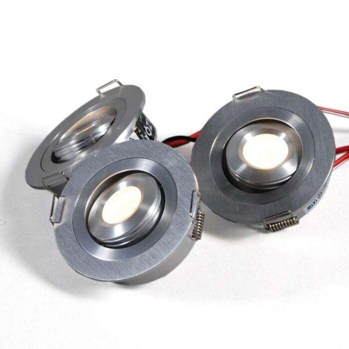 Conjunto-integrado-Lumiled-de-3-x-1W-de-alumínio