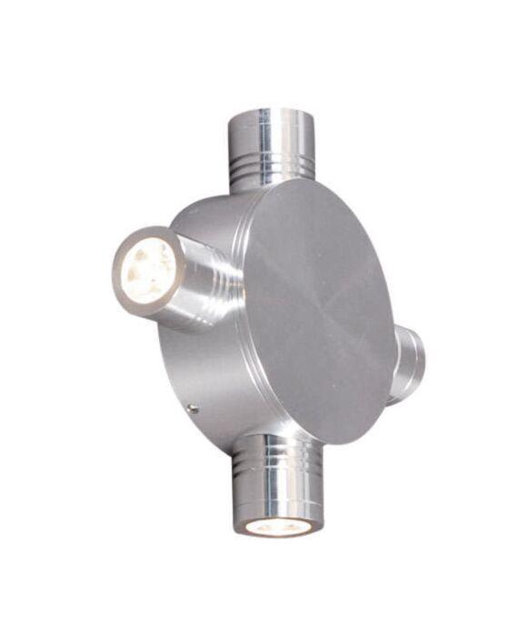 Candeeiro-de-parede-Star-LED-4-de-alumínio