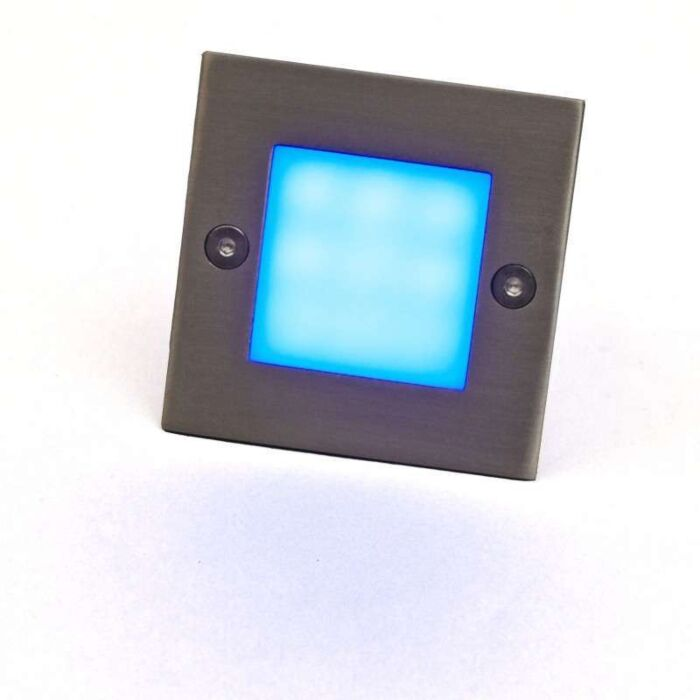 Lâmpada-embutida-LED-LEDlite-Square-7-azul