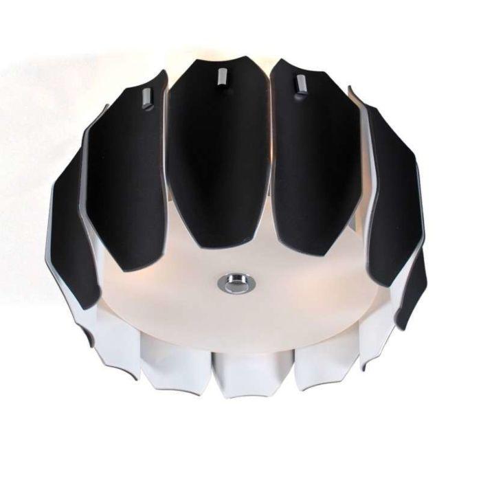Candeeiro-de-teto-Archo-40-cromado---preto