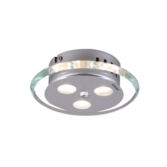 Candeeiro-de-tecto-Credo-redondo-19-LED-transparente