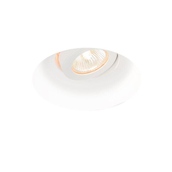 Refletor-embutido-moderno-redondo-inclinável---Gipsy-Zero-I.