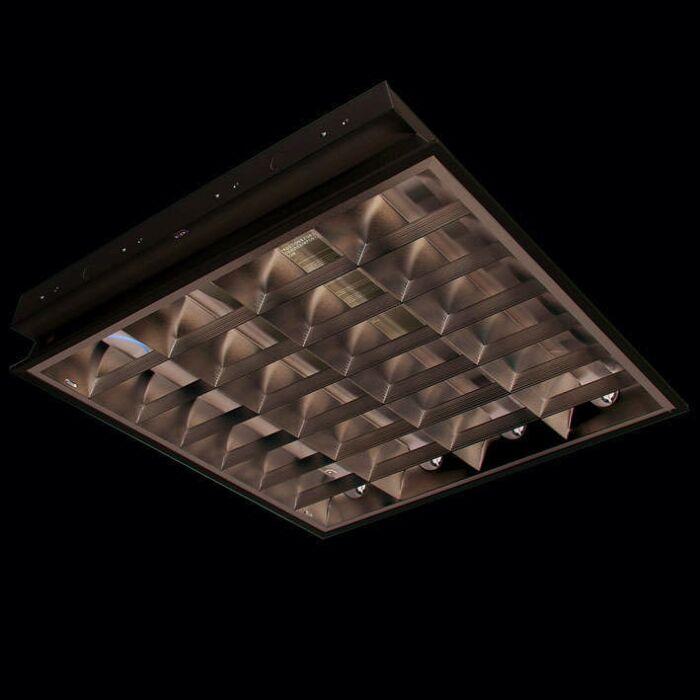 Luminária-embutida-TL-Louvre-4-x-18-W