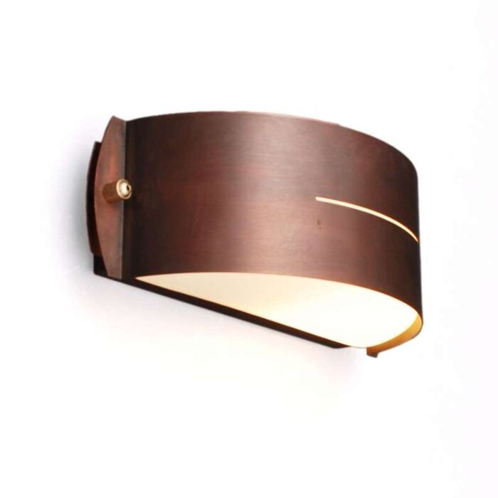 Lâmpada-de-exterior-Celine-de-parede-redonda-de-cobre