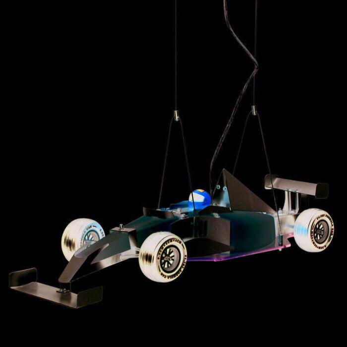 Lâmpada-suspensa-carro-infantil-Fórmula-1