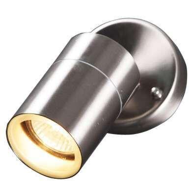 Lâmpada-de-exterior-Solo-de-aço-ajustável-na-parede
