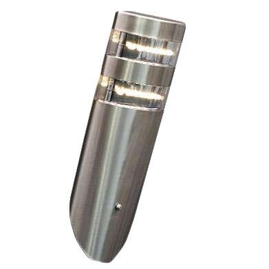 Lâmpada-de-exterior-Delta-com-parede-LED-angular