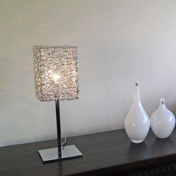Candeeiro-de-mesa-Draht-Square-L-alumínio