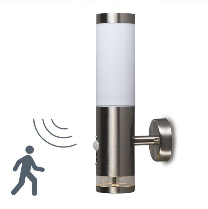 Lâmpada-exterior-Rox-Lux-LED-sensor-IR-de-parede