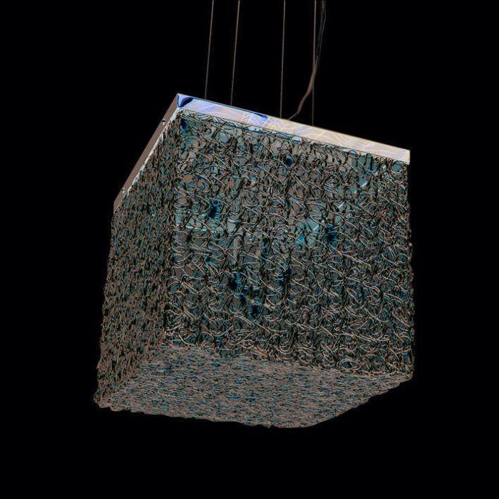 Candeeiro-suspenso-Draht-Square-10-alumínio