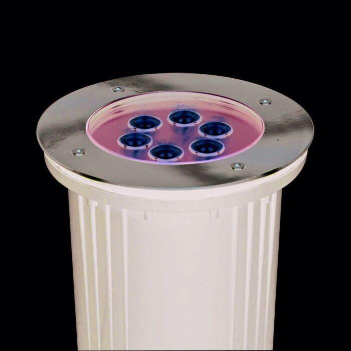 Ponto-de-aterramento-LED-de-energia-6-x-1-W.