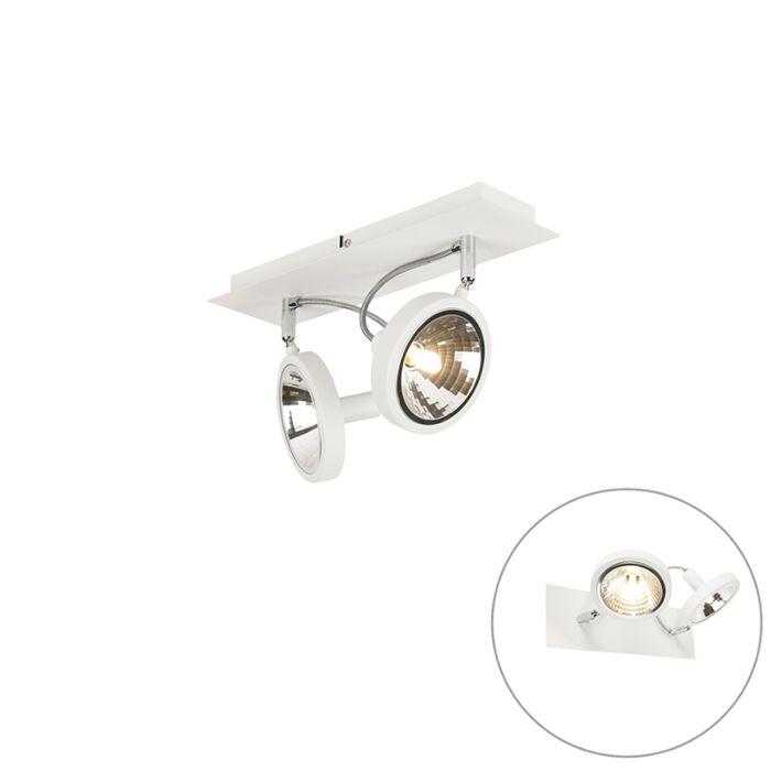 Projete-spot-white-2-light-ajustável---Nox