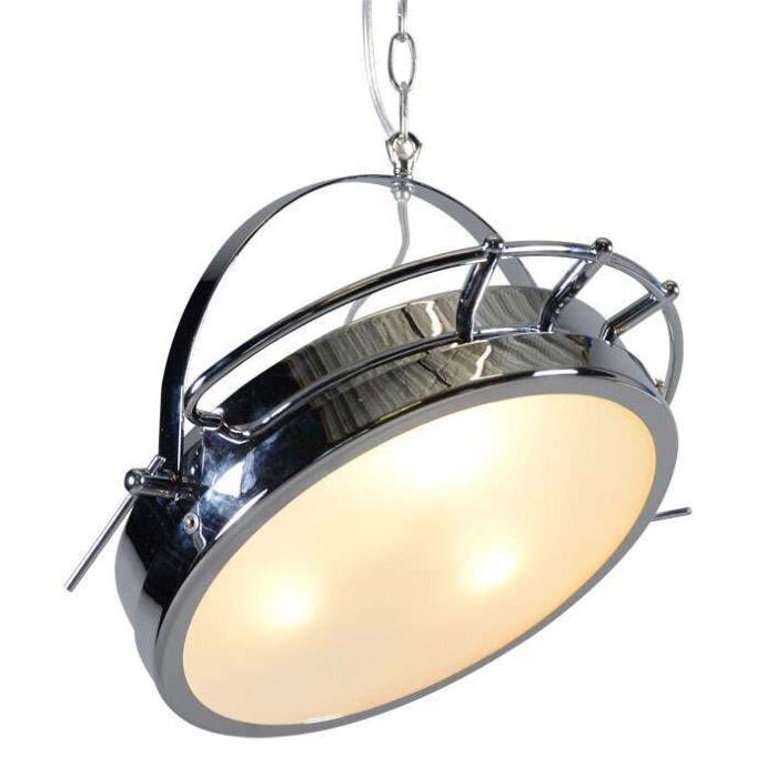 Luminária-suspensa-Ospedale-cromado