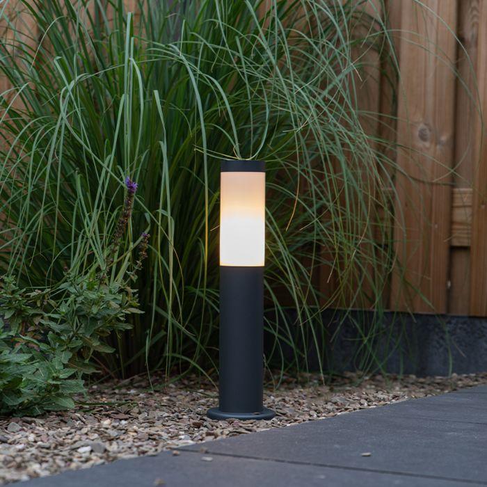 Poste-de-lâmpada-de-exterior-antracite-45-cm-IP44---Rox