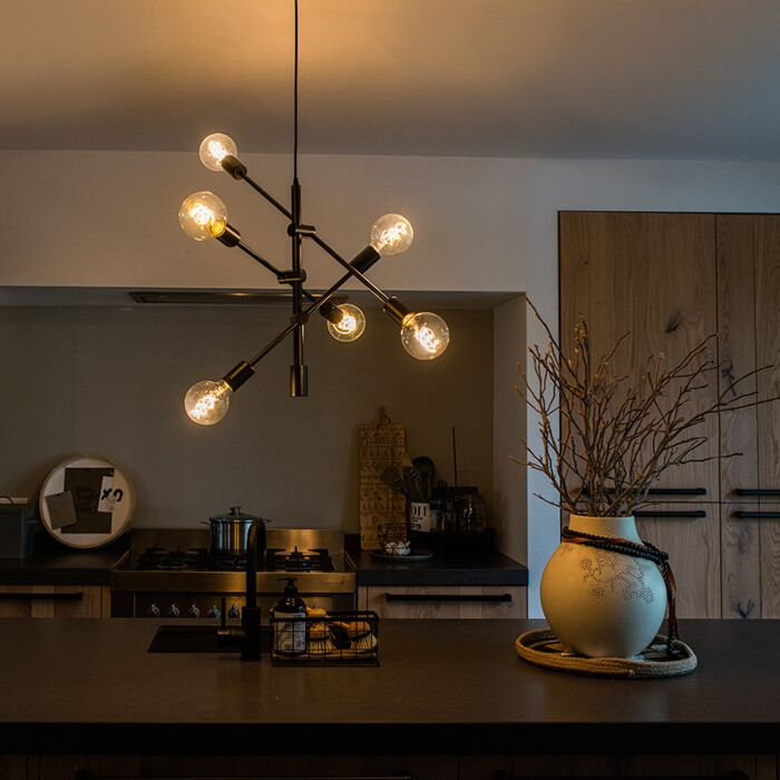Candeeiro-industrial-suspenso-preto-6-luzes---SYDNEY