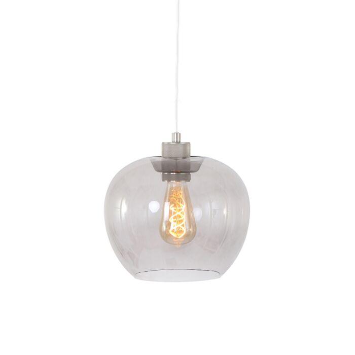 Moderno-candeeiro-suspenso-em-aço-com-vidro---Lori