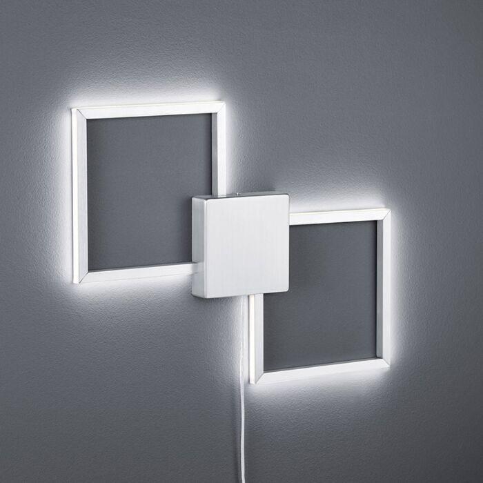 Candeeiro-de-parede-moderno-em-aço-incl.-LED---Carpo