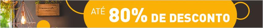Desconto até -80%